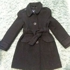 Gap kids black coat